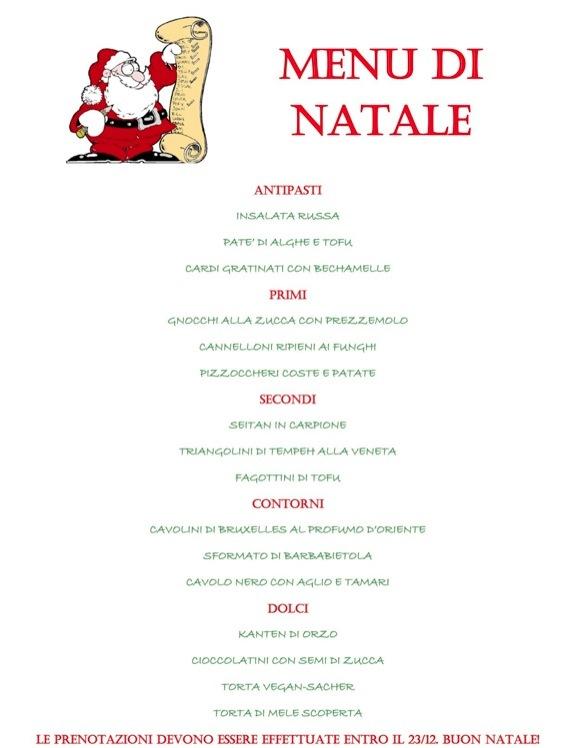 Consigli Per Menu Di Natale.Menu Di Natale 2011 Mens Sana Natural Wholefood Vegan